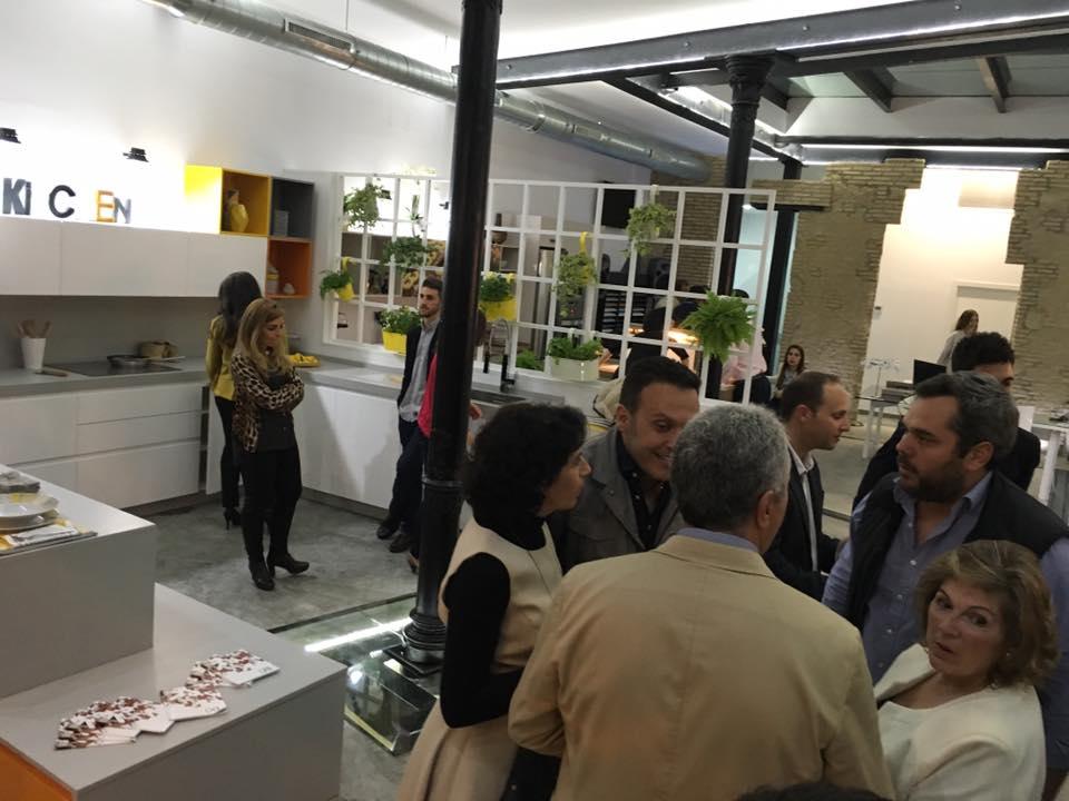 Inauguración de Quivir, muebles OB. cocinas   Urbaisa